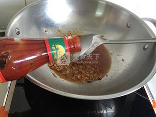 茄汁菜包卷的做法步骤:9