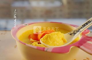 牛奶鸡蛋羹的做法步骤:6