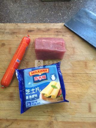 火腿奶酪炸猪排的做法步骤:1
