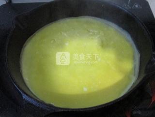 香煎梅菜卷的做法步骤:4