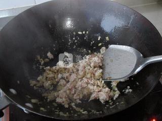 香煎梅菜卷的做法步骤:7