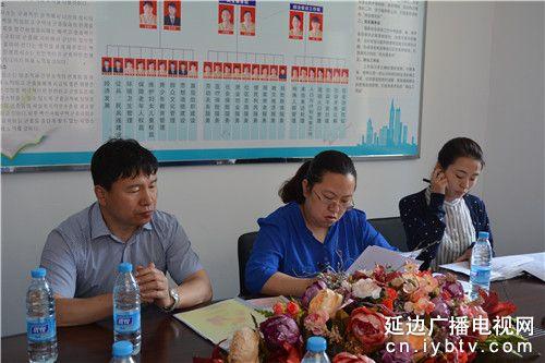 延吉市副市长盖映红到白新社区调研 (3)