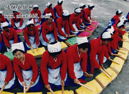 朝鲜族捣衣